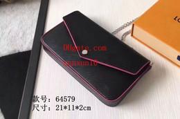 elegantes bolsos negros Rebajas Elegante cuero negro con una correa de cadena de bolsos de fragancia cálida, elegante y femenina