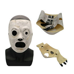 2019 máscara bonito da panda Mais novo látex Slipknot Corey Taylor Máscaras Cosplay Máscara TV Slipknot máscara máscaras Halloween Party Masquerade Bar