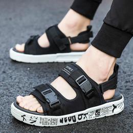 Buenas chanclas online-Nuevo diseño de Niza Calidad chanclas Zapatillas Mastermind JAPAN x SUICOKE KISEEOK-044V Sandalias Suicoke Depa Suela Diapositivas N002