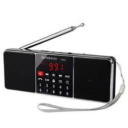 2019 minuterie de lecteur mp3 RETEKESS TR602 Radio Portable FM AM Récepteur radio Bluetooth avec lecteur MP3 Haut-parleur sans fil Prise en charge AUX Carte TF Minuterie Sommeil minuterie de lecteur mp3 pas cher