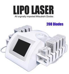 2019 lllt laser Sistema de lipolaser de remoção de celulite dupla lipo laser máquinas LLLT vaser lipo laser corpo tratamento de contorno desconto lllt laser