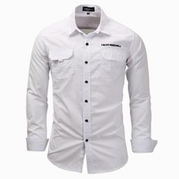 4dfdbed551df 2018 Mens Designer Clothing Alphabet Embroidery Mens 3XL T- shirts Mens  Double Pocket Decorative Anti Pilling Shirt