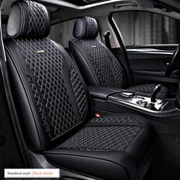10 en Frente Y Parte Trasera Set completo de fundas de asiento de coche Paño Negro CITROEN DS3