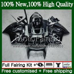 zx14 verkleidung einspritzung Rabatt Kit für HONDA Interceptor VFR800RR 02 03 04 05 06 07 69MF8 VFR800 RR Silberflamme VFR 800R 2002 2003 2004 2005 2006 2007 Verkleidung Karosserie