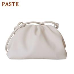 PASTE Lüks Tasarımcı Çanta Kadın Çantası Gerçek Deri Zarf Çanta Yüksek Kalite Omuz Messenger Hobos Çantalar ve Manşonlar nereden