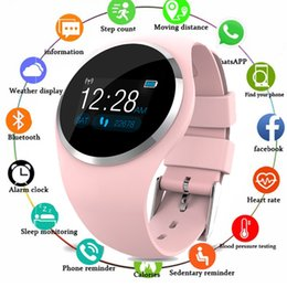 android bluetooth app Coupons - Q1 Bluetooth Lady Smart Watch Fashion Women Heart Rate Monitor Fitness Tracker Smartwatch APP Support For Android IOS pk Q8 Q9
