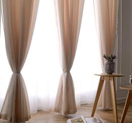 2019 проектирование окон Чистый цвет красивый оконный экран инженерный окно кафе отель гостиная спальня оконный экран утолщение романтические теплые занавески дешево проектирование окон