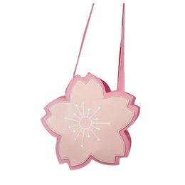 Sacos de sacos de flores on-line-Abdb Cute Sakura Satchel Handbag Mulheres Flor Crossbody Messenger Bolsa De Ombro