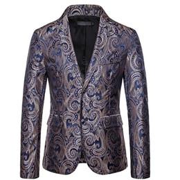 hombres contrastan trajes de solapas de color Rebajas Abrigo de hombre de alta calidad Nuevo color de contraste de manga larga Vestido de solapa de rendimiento Nuevo bordado de acrílico Abrigo de negocios Traje pequeño
