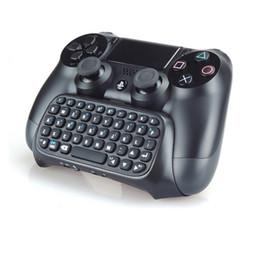 2019 console do tablet android Hot ps4 acessórios joystick ps4 sem fio chatpad play station 4 teclado mensagem para sony playstation 4 / slim / pro controlador de jogos