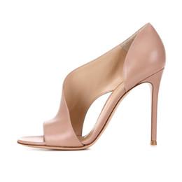 Sandales melissa talons hauts en Ligne-chaussures de designer 2019 nouveaux talons hauts sandales à la mode peep toes gladiator sangle sandales à talons aiguilles feminino melissa party sandalia