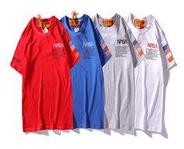 2019 Nouvelle Mode Abeille Polos T-shirts Cool Hommes Femmes NASA Plus Taille Haute Qualité Casual O Cou À Manches Courtes Tops D'été Tops Polo D'affaires ? partir de fabricateur