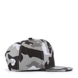 sombreros de camuflaje gris Rebajas El hombre y la mujer de camuflaje gris tapan los sombreros y vuelven a cubrir los sombreros de algodón primavera verano envío gratis