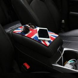 accessori per telefoni cellulari Sconti 26 * 15.5 cm Accessori interni auto per telefono GPS Portachiavi auto Sticky China UK Stati Uniti Germania Bandiera antiscivolo Pad antiscivolo