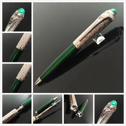 Melhores marcas de sacos de qualidade on-line-NOVO Pena luxuosa marca Promoção Preço canetas esferográficas 5A a melhor qualidade Car Brands caneta gitf + Dê sacos de veludo