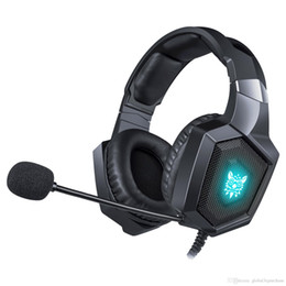 auricolare bluetooth oppo Sconti K8 casque PS4 Gaming Headset PC Stereo Earphones Headphones with Microphone LED Lights for Laptop Tablet New Xbox One.