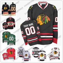 989d70209 Customize Chicago Blackhawks OLD BRAND Stadium Series Winter Classic Green  White Red Black Third 3rd cheap Jersey men women youth Kid S-4XL