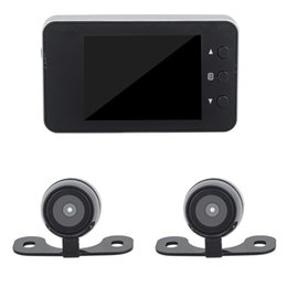 Argentina HD 12 Million Mini Bike Motocicletas Grabadora de video Grabadoras de doble lente a prueba de agua 1920 x 1080P Cámara de videocámara USB Suministro