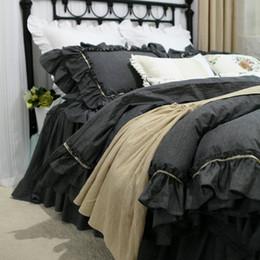 2019 set di lenzuola di lusso Copripiumino matrimoniale in cotone 100% cotone, copriletto matrimoniale in misto cotone set di lenzuola di lusso economici