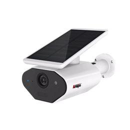 Canada Caméra de sécurité alimentée solaire extérieure Batterie sans fil rechargeable fil solaire sans fil WiFi caméra 960P IP66 Vision nocturne étanche Offre