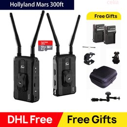 Выход видеокамеры онлайн-Hollyland Mars 300 300FT Двойной входной / выходной HDMI-передатчик и приемник Камера Беспроводная система передачи HD-видео 1080P 60 Гц