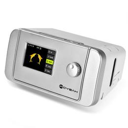 Wholesale MOYEAH Dispositivo de respiración portátil con máquina de roncar CPAP con máscara nasal CPAP Bolsa de filtro de tubo para la apnea del sueño