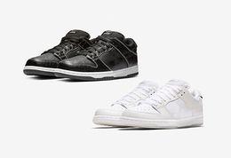53b6d3854fd7f 2018 Diamond Supply Co. x SB Dunk Low White Nero Giallo Scarpe da corsa di moda  per uomo donna di alta qualità Sneakers sportive di marca 36-45