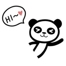 caderno panda Desconto Novo Bonito Dos Desenhos Animados Panda Laptop etiqueta da pele 8 * 10 cm notebook decalque covers laptop pele para macbook Sleepy cat Interruptor Adesivos