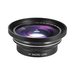 dslr kamerarasche großhandel Rabatt 30mm 37mm 0.39X Objektiv Full HD Weitwinkel-Makroobjektiv für Digital Video Camcorder Ordro Andoer