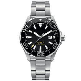 2019 movimento completo Luxo mens relógios movimento automático clássico estilo caixa de relógio de aço inoxidável completa 5ATM orolo super luminosa di lusso
