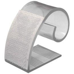 SNNY NEW Прозрачные скобы для плинтуса (MC) для 3 / 4in to 1 и 1 / 2in края стола - 25 шт от