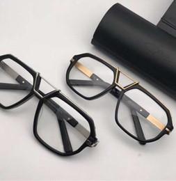 dc1f7b3ea6be Gold Black Glasses Eyeglasses Frame 8038 Full Rim Clear Lens Mens Designer  Sunglasses New with box mens rimless eyeglasses frames promotion