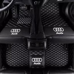 Approprié pour Audi A1 A3 A4 A5 A6 A7 A8 A8L Q3 Q5 Q7 R8 S1 S3 S4 S5 2006-2019 tapis de voiture respectueux de l'environnement tapis non toxique ? partir de fabricateur