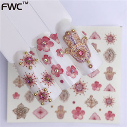 Wuf 1 Sheet Water Transfer Nail Stickers Decals Fruit Ice Cream Cake Pattern Nail Art Stickers Wraps Manicure Decoration