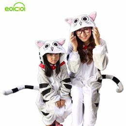 família, vestido, alikes, mãe, filha Desconto Flanela de inverno Família Mãe Crianças Unicórnio Panda Animal Animal Pijama One Piece Menina Menino Pijama Mulher Casa Com Capuz Roupas Y190523
