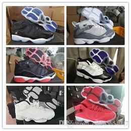 2019 sport di rilievo 6 2019 Anelli Uomo Scarpe da Basket Gym Red Space Jam Concord Cool Grigio Confetti Fashion Discount Sport Sneaker Sneaker 6s Bred 40-45 sport di rilievo economici