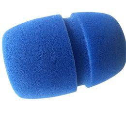 Решетки для замены онлайн-10 шт. Сгущает микрофон пена Cap KTV профессиональный студийный микрофон замена крышки губка WindScreen защитный экран гриль