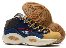 Nuova vendita calda scarpe firmate Allen Iverson Domanda Mid Q1 Scarpe casual Risposta 1s Zoom Uomo Stivali Scarpe sportive di lusso Elite Sport Sneakers supplier mens casual boots sale da vendita casual stivali uomo fornitori