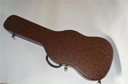 2019 caso di chitarra marrone Vendite dirette della fabbrica della nuova custodia standard in pelle per chitarra elettrica custodia per chitarra marrone spedizione gratuita caso di chitarra marrone economici