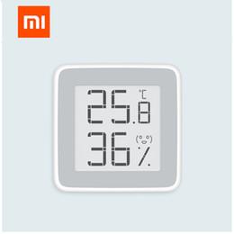 2019 sensor de temperatura de pantalla lcd [CALIENTE] Original Xiaomi Mijia Termómetro Temperatura Humedad Sensor Pantalla LCD Medidor de humedad digital para Xiaomi kit de casa inteligente rebajas sensor de temperatura de pantalla lcd