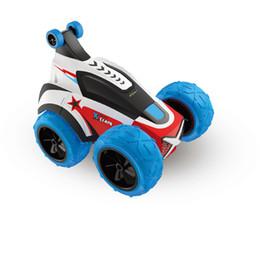 carros grandes para crianças Desconto Silverlit carzy Virar carro elétrico de controle remoto 1:18 girar 360 graus crianças Big Wheels Car Toys For Boys LJJO7173