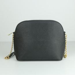 Bolso de playa tote online-Mujer diseñador clásico bolso bandolera famosa concha de cadena bolso de cuero de la PU bolsa de playa de verano de verano señora debe llevar bolsa de mensaje monedero