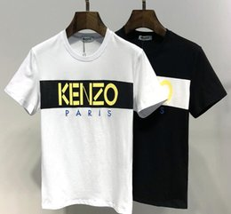 d198f60eaa1 Mode marque supérieure Kenzo manches courtes animaux imprimés mens Womens T  shirts Black tiger mouse broderie manches tee shirts top tops Unisexe  chemise ...