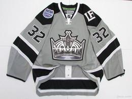 Barato personalizado JONATHAN QUICK LOS ANGELES KINGS 2014 STADIUM SERIES JERSEY punto agregar cualquier número cualquier nombre Mens Hockey Jersey GOALIE CUT 5XL desde fabricantes