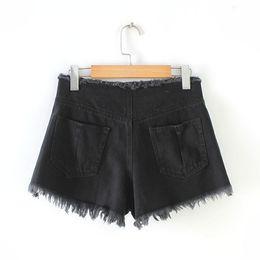 2019 heiße, niedrige jeans Westlichen Stil grenzüberschreitende Versorgung Ultrakurze Flash Low-Rise Binden Jeans Placket Bandage Tuch Shorts Hot Pants Frauen günstig heiße, niedrige jeans