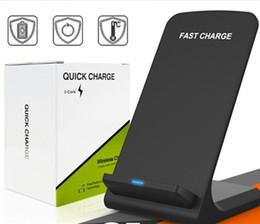 smartphones mais rápidos Desconto 2 bobinas 10 w sem fio carregador rápido qi suporte de carregamento sem fio pad para apple iphone x 8 8 plus samsung note 8 s8 s7 todos os qi-enabled smartphones