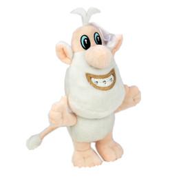 2019 boneca de porco bonito dos desenhos animados 24 cm Bonito Dos Desenhos Animados Russa TV Booba Buba Brinquedos De Pelúcia Boneca de Pelúcia Pequenas Porco Branco de Pelúcia Crianças Brinquedos L241 boneca de porco bonito dos desenhos animados barato