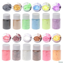 materiali di imballaggio dei monili Sconti Monili che fanno Pearlescent Mica polvere del pigmento arcobaleno UV resina epossidica Fai da te