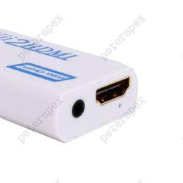 ide vga converter Скидка VBESTLIFE Wii к HDMI 1080P Конвертор Wii2HDMI адаптера 3,5 мм Jack Audio Video Output Full HD 1080P выход для HDTV