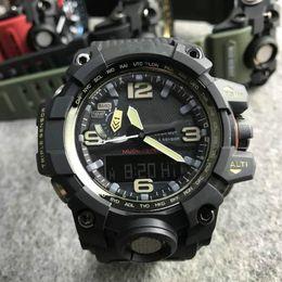2019 часы стильные спортивные Gwg-1000dc explorer series stylish cool watch multi-functional sport watch resin case dust and sand resistant pin buckle дешево часы стильные спортивные